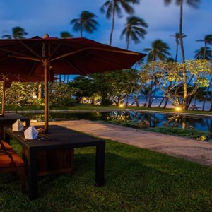 The Vijitt - Luxury Thailand Honeymoon Packages - Restaurant exterior dining