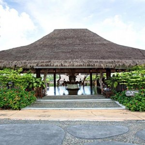 The Vijitt - Luxury Thailand Honeymoon Packages - Spa entrance