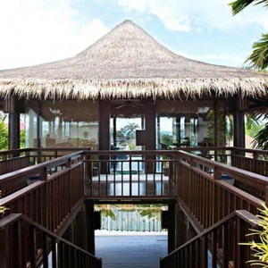 The Vijitt - Luxury Thailand Honeymoon Packages - Spa entrance1