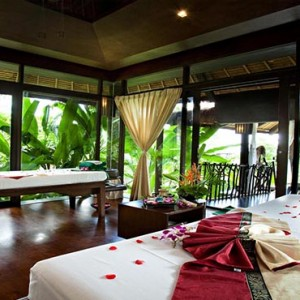 The Vijitt - Luxury Thailand Honeymoon Packages - Spa treatment room