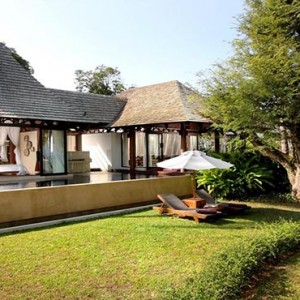 The Vijitt - Luxury Thailand Honeymoon Packages - Vijitt Pool Villa exterior pool