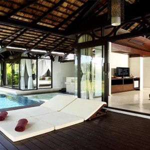 The Vijitt - Luxury Thailand Honeymoon Packages - Vijitt Pool Villa exterior pool1