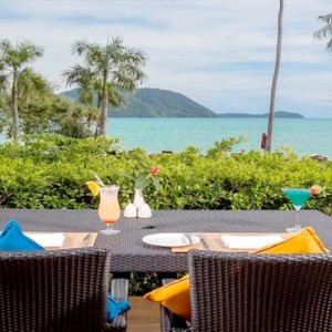 The Vijitt - Luxury Thailand Honeymoon Packages - beach bar view