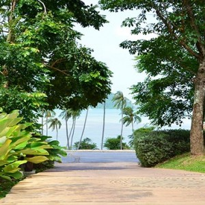 The Vijitt - Luxury Thailand Honeymoon Packages - beach walkway