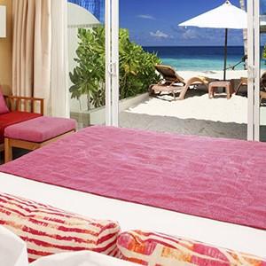 centara ras fushi - maldives honeymoon packages - ocean front beach villa 2