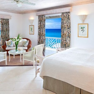 coral reef club - barbados honeymoon packages - bedroom