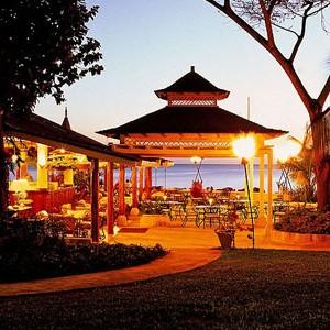 coral reef club - barbados honeymoon packages - dining