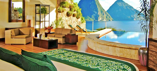 12 honeymoon resorts with private plunge pools honeymoon for Garden plunge pool uk