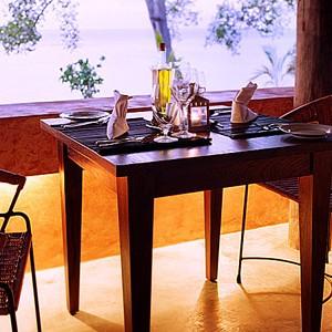 laluna resort - grenada honeymoon packages - dining