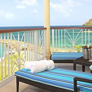 the landings hotel - st lucia honeymoon packages - balcony