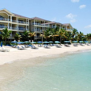 the landings hotel - st lucia honeymoon packages - beach 2