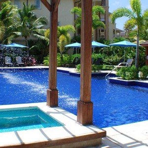 the landings hotel - st lucia honeymoon packages - main pool