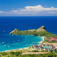 the landings hotel - st lucia honeymoon packages - thumbnail