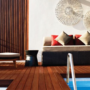 w retreat koh samui - thailand honeymoon packages - decking