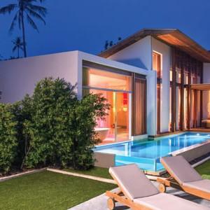 w retreat koh samui - thailand honeymoon packages - garden
