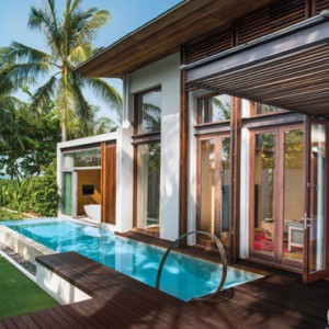 w retreat koh samui - thailand honeymoon packages - private pool