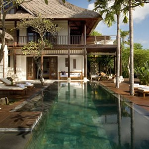 Karma Jimbaran - bali honeymoon packages - deck