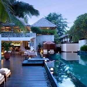 Karma Jimbaran - bali honeymoon packages - pool
