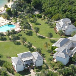 Antigua honeymoon packages - The Inn - aerial