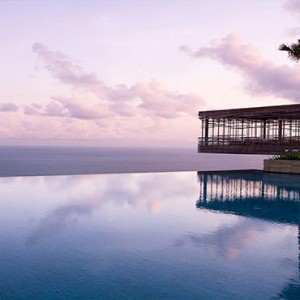 alila uluwatu - bali honeymoon packages - view