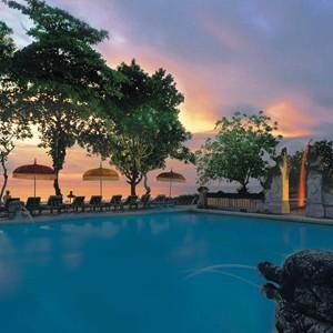 the oberoi bali - bali honeymoon packages - pool