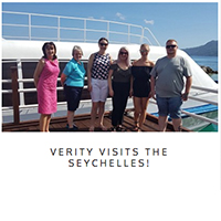 verity visits the seychelles