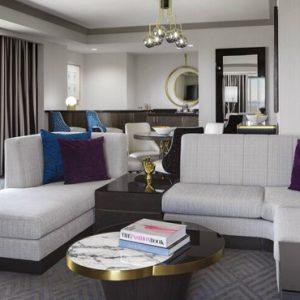 Las Vegas honeymoon Packages Cosmopolitan Las Vegas Wrap Around Terrace Suite