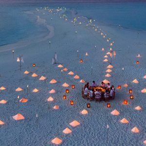 Maldives Honeymoon Packages Soneva Fushi Maldives 4 Bedroom Soneva Fushi Dining
