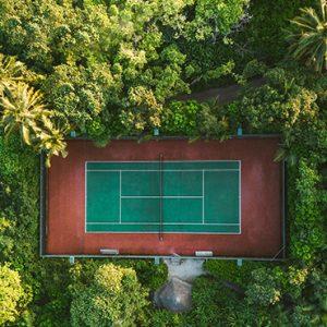 Maldives Honeymoon Packages Soneva Fushi Maldives 4 Bedroom Soneva Fushi Tennis Courts