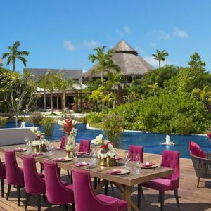 Mexico Honeymoon Packages Secrets Akumal Riviera Maya Dining