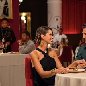 Mexico Honeymoon Packages Secrets Akumal Riviera Maya Dining 2