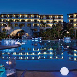 Mexico Honeymoon Packages Secrets Akumal Riviera Maya Exterior Night