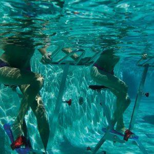 Mexico Honeymoon Packages Secrets Akumal Riviera Maya Pool Workout