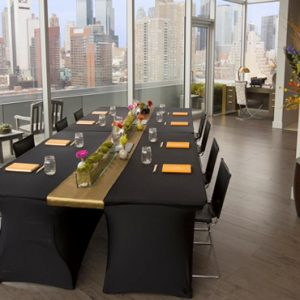 New York Honeymoon Packages Ink 48 A Kimpton Hotel Heaven Over Hell Penthouse Suite