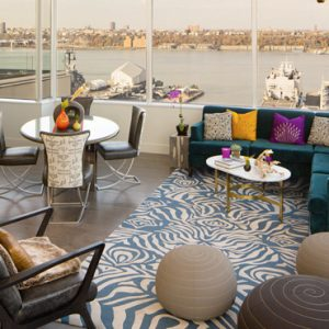 New York Honeymoon Packages Ink 48 A Kimpton Hotel Heaven Over Hell Penthouse Suite 2