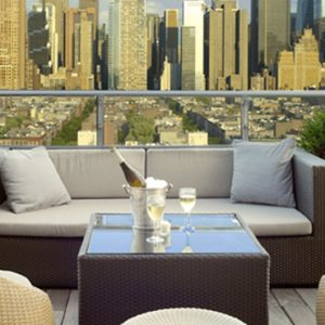 New York Honeymoon Packages Ink 48 A Kimpton Hotel Bar