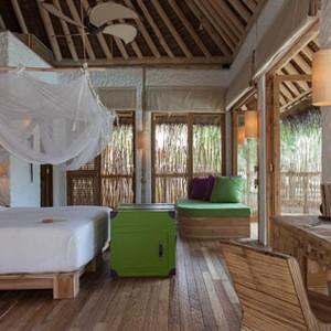 Soneva fushi Maldives - Villa bed