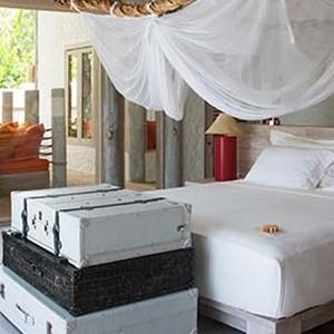 Soneva fushi Maldives - Villa bedroom