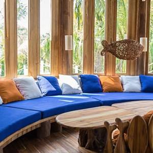 Soneva fushi Maldives - Villa dining