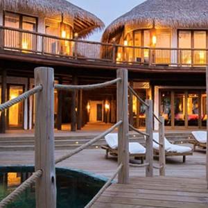 Soneva fushi Maldives - Villa exterior