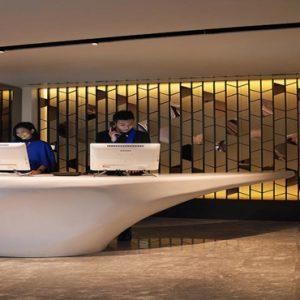 Naumi Hotel Singapore Singapore Honeymoon Packages Reception