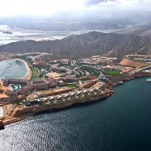 Oman Honeymoon Packages Al Waha At Shangri La Barr Al Jissah Resort And Spa Aerial View1