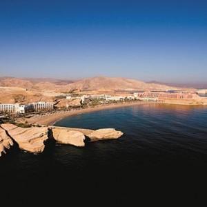 Oman Honeymoon Packages Al Waha At Shangri La Barr Al Jissah Resort And Spa Aerial View2