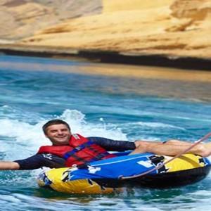 Oman Honeymoon Packages Al Waha At Shangri La Barr Al Jissah Resort And Spa Doughnut Ride