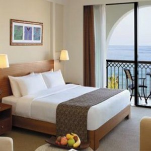 Oman Honeymoon Packages Al Waha At Shangri La Barr Al Jissah Resort And Spa Executive Sea View