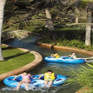Oman Honeymoon Packages Al Waha At Shangri La Barr Al Jissah Resort And Spa Lazy River