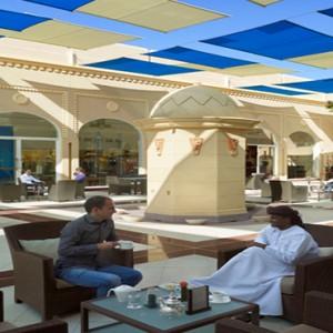 Oman Honeymoon Packages Al Waha At Shangri La Barr Al Jissah Resort And Spa Mazaar Souk Courtyard