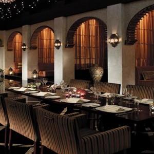 Oman Honeymoon Packages Al Waha At Shangri La Barr Al Jissah Resort And Spa Shahrazad Restaurant
