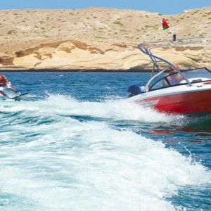 Oman Honeymoon Packages Al Waha At Shangri La Barr Al Jissah Resort And Spa Wake Boarding