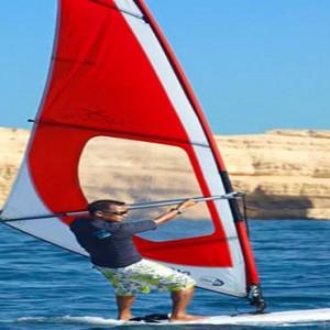 Oman Honeymoon Packages Al Waha At Shangri La Barr Al Jissah Resort And Spa Windsurfing